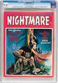 Magazines:Horror, Nightmare #9 (Skywald, 1972) CGC NM/MT 9.8 Off-white to white pages....