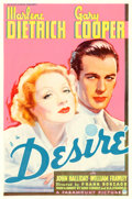 "Movie Posters:Romance, Desire (Paramount, 1936). One Sheet (27"" X 41"").. ..."