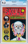 Bronze Age (1970-1979):Alternative/Underground, Skull Comics #1 (Rip Off Press, 1970) CGC NM- 9.2 Off-white to white pages....