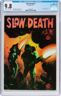 Slow Death #3 (Last Gasp, 1971) CGC NM/MT 9.8 Off-white to white pages