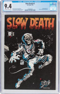 Bronze Age (1970-1979):Alternative/Underground, Slow Death #2 (Last Gasp, 1970) CGC NM 9.4 Off-white to white pages....