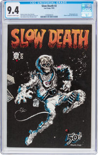 Slow Death #2 (Last Gasp, 1970) CGC NM 9.4 Off-white to white pages