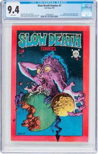 Slow Death #1 (Last Gasp, 1970) CGC NM 9.4 White pages