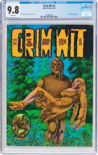 Grim Wit #1 (Rip Off Press, 1972) CGC NM/MT 9.8 White pages