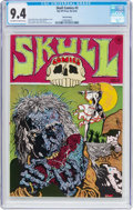 Bronze Age (1970-1979):Alternative/Underground, Skull Comics #3 Third Printing (Rip Off Press, No D) CGC NM 9.4 Off-white to white pages....