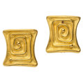 Estate Jewelry:Earrings, Gold Earrings, Denise Roberge . ...
