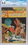Golden Age (1938-1955):Superhero, All-American Comics #72 (DC, 1946) CGC FN+ 6.5 Cream to off-white pages....
