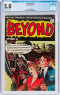 Golden Age (1938-1955):Horror, The Beyond #15 (Ace, 1952) CGC VG/FN 5.0 Off-white to whitepages....
