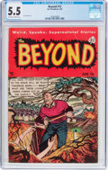Golden Age (1938-1955):Horror, The Beyond #12 (Ace, 1952) CGC FN- 5.5 Off-white to white pages....