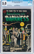 Golden Age (1938-1955):Horror, Adventures Into Darkness #6 (Standard, 1952) CGC VG/FN 5.0 Whitepages....