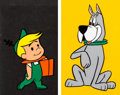 Animation Art:Production Cel, The Jetsons Production Cels Group of 3 (Hanna-Barbera,1962). ... (Total: 3 )