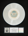Memorabilia:Comic-Related, The Little Mermaid Soundtrack RIAA Platinum Record Award (Walt Disney, 1989). ...