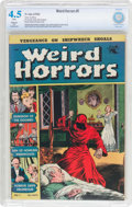 Golden Age (1938-1955):Horror, Weird Horrors #1 (St. John, 1952) CBCS Restored VG+ 4.5 (Slight)White pages....