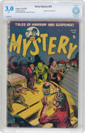 Golden Age (1938-1955):Horror, Mister Mystery #14 (Aragon, 1953) CBCS GD/VG 3.0 White pages....