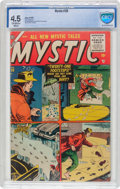 Golden Age (1938-1955):Horror, Mystic #39 (Atlas, 1955) CBCS VG+ 4.5 Off-white to white pages....
