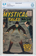 Silver Age (1956-1969):Horror, Mystical Tales #1 (Atlas, 1956) CBCS VG 4.0 Off-white pages....