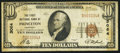 National Bank Notes:Kentucky, Princeton, KY - $10 1929 Ty. 1 The First NB Ch. # 3064. ...