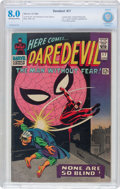 Silver Age (1956-1969):Superhero, Daredevil #17 (Marvel, 1966) CBCS VF 8.0 Off-white to white pages....