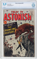 Silver Age (1956-1969):Horror, Tales to Astonish #22 (Marvel, 1961) CBCS VG- 3.5 White pages....