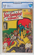 Golden Age (1938-1955):Superhero, Star Spangled Comics #36 (DC, 1944) CBCS GD/VG 3.0 Cream to off-white pages....