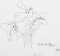 Animation Art:Concept Art, Rocky and Bullwinkle Layout Drawings Group of 2 (Jay Ward/Kurtz and Friends, 1993). ... (Total: 2 )