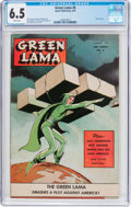 Golden Age (1938-1955):Science Fiction, Green Lama #6 (Spark Publications, 1945) CGC FN+ 6.5 Whitepages....