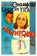 "Movie Posters:Drama, Mannequin (MGM, 1937). One Sheet (27"" X 41"") Style C, Ted""Vincentini"" Ireland Artwork.. ..."