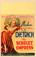 "Movie Posters:Drama, The Scarlet Empress (Paramount, 1934). Window Card (14"" X 22"")....."