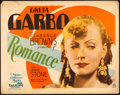 "Movie Posters:Drama, Romance (MGM, 1930). Title Lobby Card (11"" X 14"").. ..."