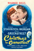 "Movie Posters:Comedy, Christmas in Connecticut (Warner Brothers, 1945). One Sheet (27"" X41"").. ..."