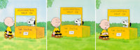 Charlie Brown and Snoopy Show Production Cel Setups and Animation Drawing Sequence (Bill Melendez, 1983).... (Total: 9 )