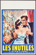 "Movie Posters:Foreign, The Young and the Passionate (1950s). Belgian (14.25"" X 22""). Foreign.. ..."