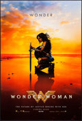 "Movie Posters:Action, Wonder Woman (Warner Brothers, 2017). One Sheets (2) (27"" X 40""). Advance Kneeling Style and Standing Style. Action.. ... (Total: 2 Items)"