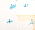 Animation Art:Production Drawing, The Little Mermaid Sebastian Animation Drawing Group of 16 (Walt Disney, 1989).... (Total: 16 Items)