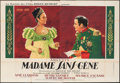 """Movie Posters:Foreign, Madame Sans-Gene (Films Roger Richebe, 1941). French Double Grande(63"""" X 91""""). Foreign.. ..."""