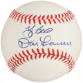 Autographs:Baseballs, Don Larsen and Yogi Berra Multi Signed Baseball....