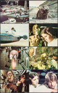 """Movie Posters:Science Fiction, Star Wars (20th Century Fox, 1977). Deluxe Mini Lobby Card Set of 8(8"""" X 10""""). Science Fiction.. ... (Total: 8 Items)"""