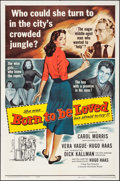 "Movie Posters:Romance, Born to Be Loved & Others Lot (Universal International, 1959). One Sheets (2) (27"" X 41""). Romance.. ... (Total: 2 Items)"