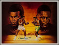 Boxing Collectibles:Autographs, Muhammad Ali & Joe Frazier Signed Ron Lewis Lithograph. ...