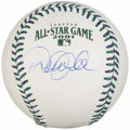 Autographs:Baseballs, 2001 All Star Game Derek Jeter Single Signed Baseball. ...