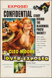 "Over-Exposed (Columbia, 1956). One Sheet (27"" X 41""). Bad Girl"