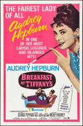 "Movie Posters:Romance, Breakfast at Tiffany's (Paramount, R-1965). One Sheet (27"" X 41""). Romance.. ..."