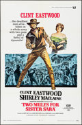 """Movie Posters:Western, Two Mules for Sister Sara (Universal, 1970). One Sheet (27"""" X 41"""") & Pressbook (12 Pages, 9"""" X 14""""). Western.. ... (Total: 2 Items)"""