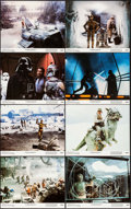 "Movie Posters:Science Fiction, The Empire Strikes Back (20th Century Fox, 1980). Lobby Card Set of8 (11"" X 14""). Science Fiction.. ... (Total: 8 Items)"