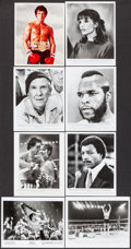 """Movie Posters:Sports, Rocky III & Others Lot (United Artists, 1982). Photos (36) (8.25"""" X 10.25"""") * Color Slides (55) (2"""" X 2""""). Sports.. ... (Total: 91 Items)"""