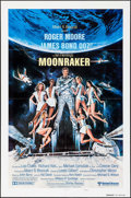 "Movie Posters:James Bond, Moonraker (United Artists, 1979). International Teaser One Sheet(27"" X 41"") Style B. James Bond.. ..."