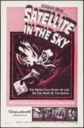 """Movie Posters:Science Fiction, Satellite in the Sky (Warner Brothers, 1956). One Sheet (27"""" X 41""""). Science Fiction.. ..."""