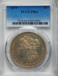 Proof Morgan Dollars, 1879 $1 PR63 PCGS....
