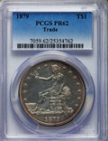 Proof Trade Dollars, 1879 T$1 PR62 PCGS....