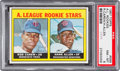 Baseball Cards:Singles (1960-1969), 1967 Topps Rod Carew - A. L. Rookies #569 PSA NM-MT 8....